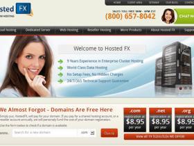 hostedfx-服务器半价/G口不限/免费硬raid