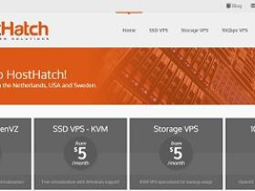 hosthatch-香港VPS/softlayer/$2.6/月/256m内存/30gSSD/1T流量