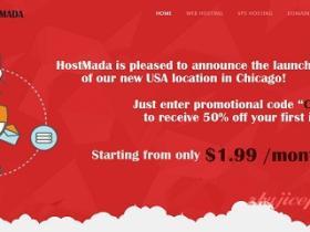 hostmada-3.4美元/新加坡/512m内存/50g硬盘/500g流量